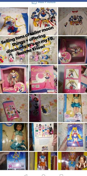 Sailor moon lot ! See info for the link to it for Sale in Tacoma, WA