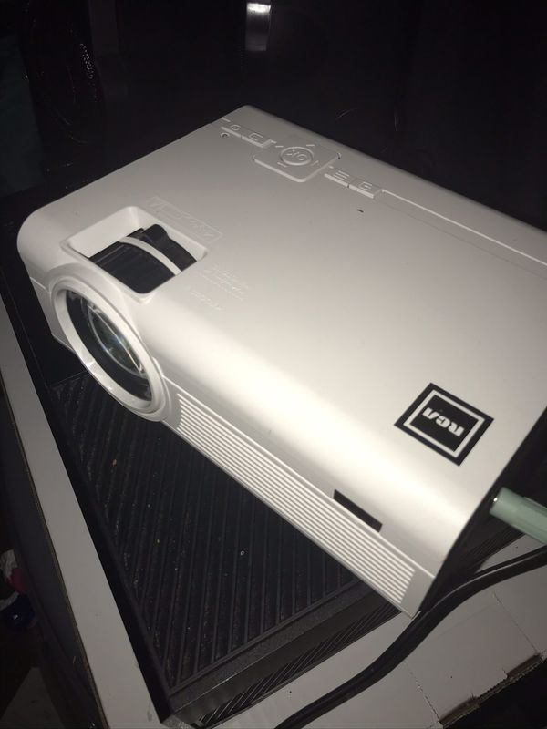 "Home theater hd projector up to ""65"