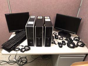 HP Elite DESKTOP & MONITORS for Sale in Jacksonville, FL
