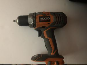 "Ridgid R86008 Fuego 18V Li-Ion 1/2"" Cordless Drill/Driver Power Tool -only. for Sale in Chevy Chase, MD"