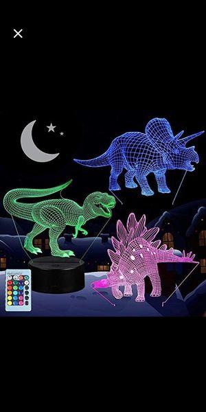 3D Dinosaur Night Light for Sale in Hanover, NJ