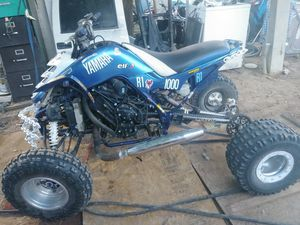 O4 yamaha raptor with an 08 R1000 engine for Sale in Edgewood, NM
