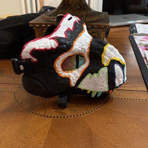 Self painted rainbow raptor mask for Sale in Boca Raton, FL