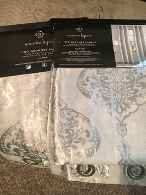 New/ 8 curtains Sets for Sale in Crownsville, MD