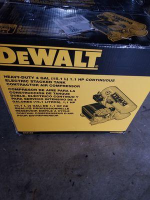 DEWALT 4 Gal. Portable Electric Air Compressor for Sale in Sacramento, CA
