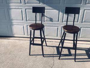 2 BAR HEIGHT BARSTOOLS for Sale in Acworth, GA