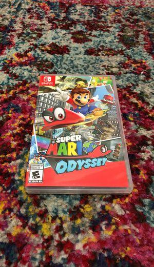 Super Mario Odyssey - Nintendo Switch for Sale in Seattle, WA