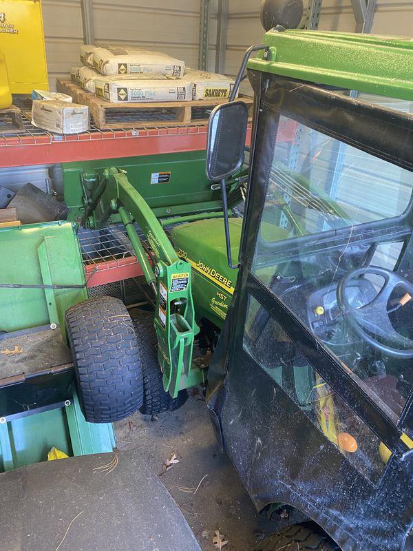 John Deere 2720 4 Wheel Drive Tractor & Attachments For Sale