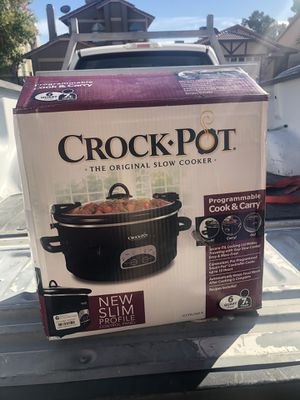 Crock-Pot 6qt Programmable for Sale in Las Vegas, NV
