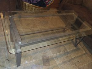 Tempered Glass Coffee Table for Sale in Fort Wayne, IN