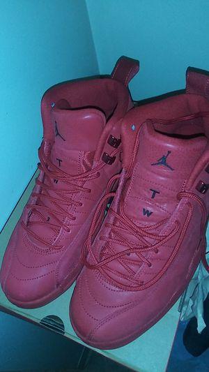 Jordan 12 all red for Sale in Boston, MA