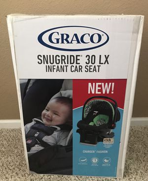 NEW Graco Snugride 30 LX Infant Car Seat for Sale in Commerce City, CO