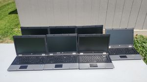 Lot of 7 HP ProBook 6445b Laptops untested sold AS-IS for Sale in Saint Michael, MN