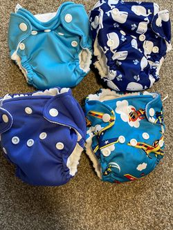 Newborn Cloth Diapers AIO (All In One) for Sale in Enumclaw,  WA