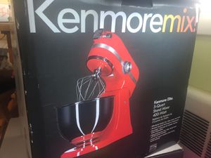 New KenMoore RED elite stand mixer for Sale in Hartford, CT