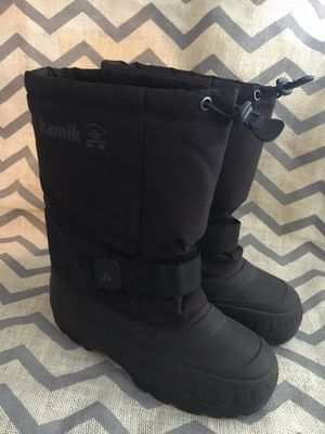 Kamik Kids Snow Boots Size Youth 4 for Sale in Hillsboro, OR