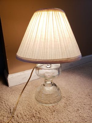 Beautiful Glass Lamp antique for Sale in Laurel, MD