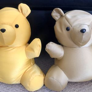 "Pair Of 14"" Large Beanie Teddy Bear Plush NEW for Sale in Ontario, CA"