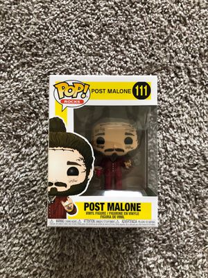 Post Malone Funko Pop for Sale in Renton, WA