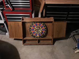 Antique Medicine Cabinet with Dartboard (made in England) for Sale in Portland, OR