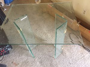 Glass end table for Sale in Dublin, CA