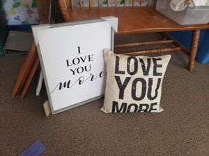 I love you more for Sale in Stanwood, WA