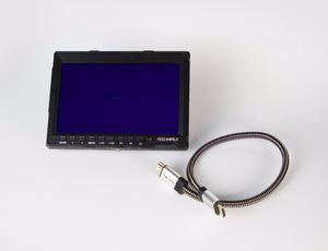 "FEELWORLD FW759 7"" IPS Camera field monitor, HDMI Cable, Battery & Charger for Sale in Boca Raton, FL"