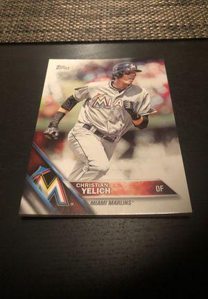 Christian Yelich - Baseball Card - 5x7 Card - SGA for Sale in Homestead, FL