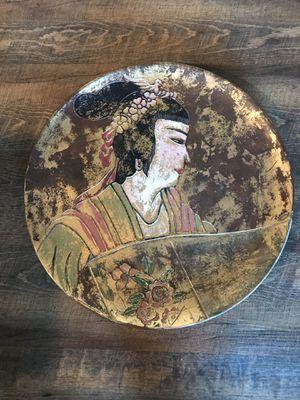 Oriental decorative plate for Sale in Lemon Grove, CA
