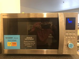 Sharp Microwave (Stainless Steel) - 1.6 Cu. Ft. Family-Size for Sale in Seattle, WA