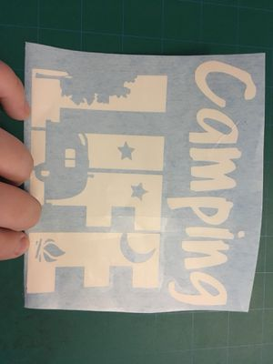 Camping life decal for Sale in Kearneysville, WV