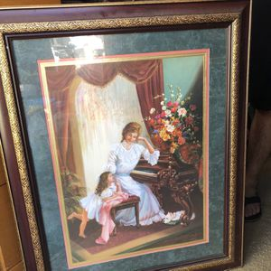 """Piano Picture Frame """"Mother May I Play, By Di Giacomo"""" for Sale in Long Beach, CA"""