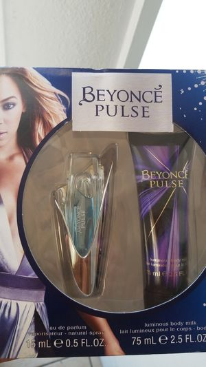 Beyonce's pulse gift set parfum for Sale in Fresno, CA