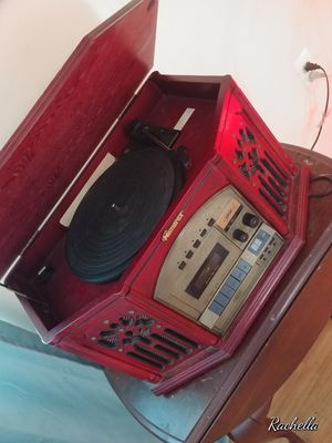Antique LOOKING radio, record player, tape player, for Sale in East Hartford, CT