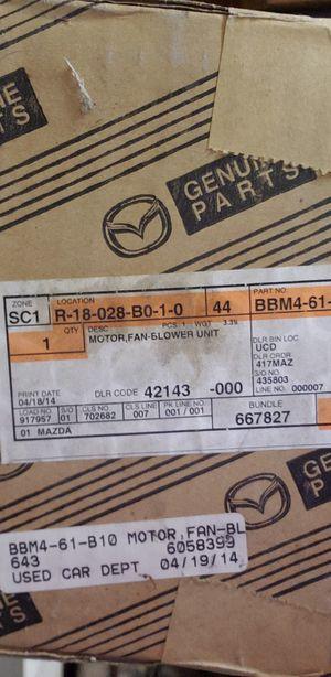 Mazda 3 Blower Motor 2010-2013 for Sale in Redlands, CA