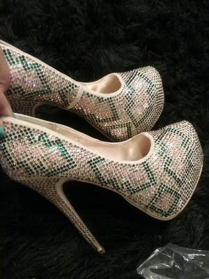 Chic Rhinestone Heels 👡 for Sale in Winston-Salem, NC