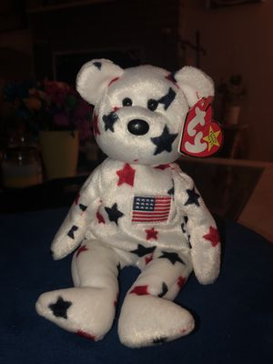 Glory the bear ty beanie baby. Extremely rare mint condition for Sale in San Diego, CA