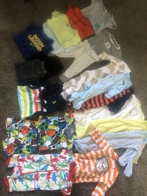 Babyboy 0-3 months clothes for Sale in Moreno Valley, CA