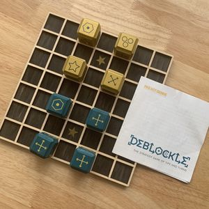 Deblockle - Fun Strategy Game For 2 People for Sale in San Antonio, TX