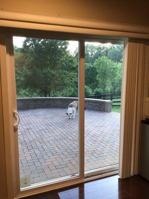 Sliding Patio door with blinds for Sale in Woodbridge, VA