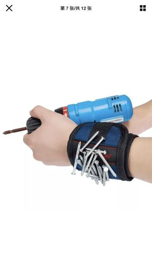 Magnetic Wristband Strong Magnets Holding Screws Nails Drill Bits Carpenter Tool for Sale in San Leandro, CA