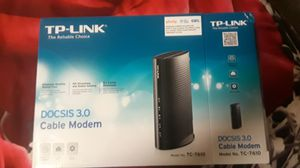Cable modem DOCSIS 3. T-P link. for Sale in Hamilton, OH