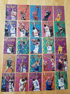 1995-96 complete NBA hoops Block Party basketball set for Sale in Gresham, OR