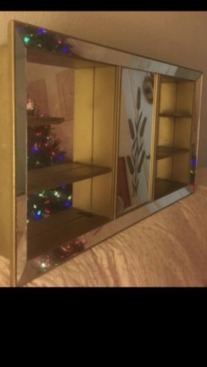 Mirrored Shadow Box Shelf for Sale in Mesa, AZ