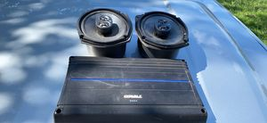 Kicker 6x9s and Orion amplifier for Sale in Arlington, TX