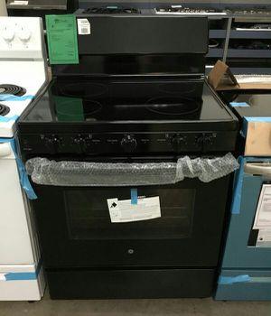 NEW GE Black Electric Glass Top Range w/ Self Clean for Sale in Gilbert, AZ