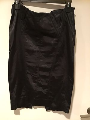 BLACK PENCIL SILK SKIRT for Sale in Irvine, CA