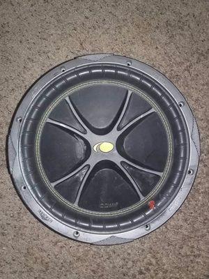 Kicker subwoofer audio bahn subwoofer for Sale in Las Vegas, NV