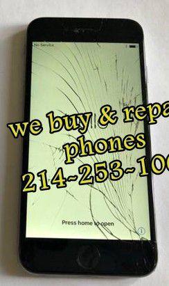 Iphone 8 + screen for Sale in Dallas, TX
