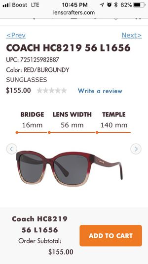 Brand new coach sunglasses for Sale in Baltimore, MD